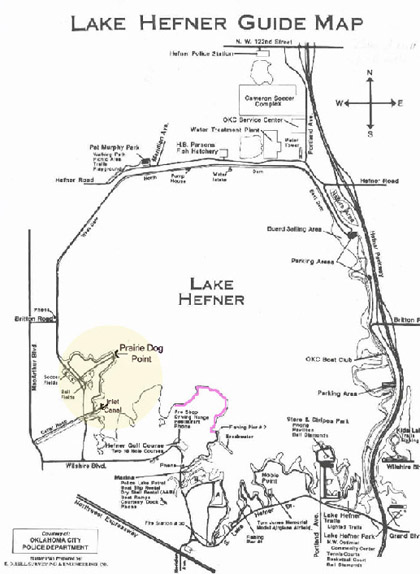Lake hefner oklahoma city audubon society for Lake hefner fishing report