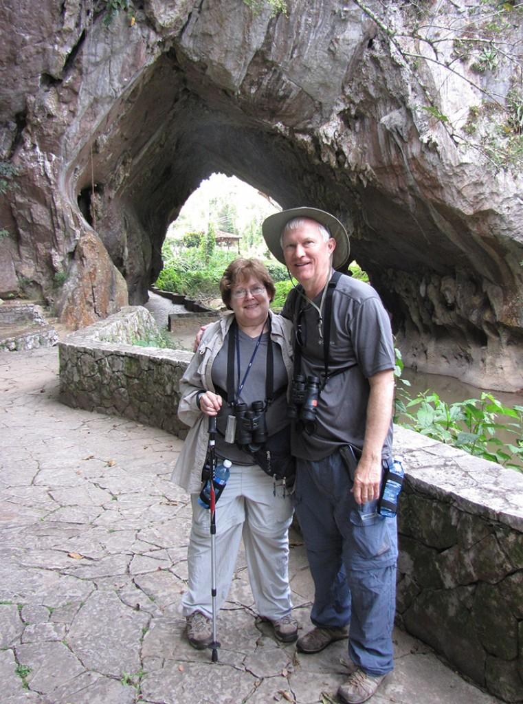 Mary Lane & Steve Davis in Cuba.