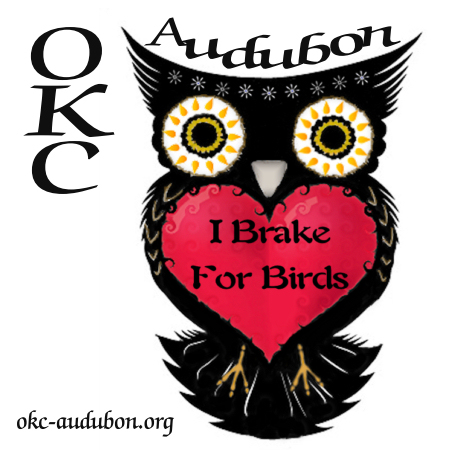I Brake For Birds - Owl w/ Red Heart