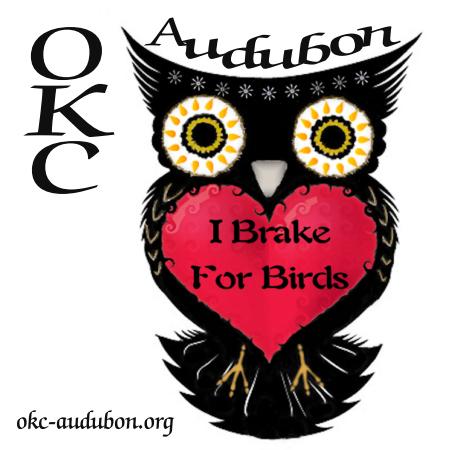 I Brake For Birds - Owl w/ Red Heart